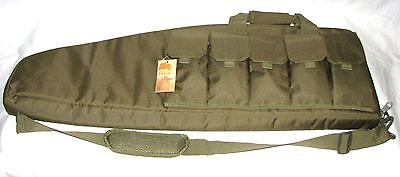 "37"" Padded Rifle Shotgun Case/ Bag With Sling Hunting Range Bag Olive Drab Color"