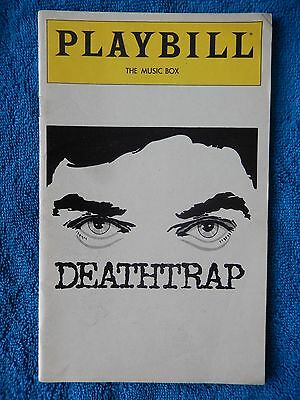 Deathtrap - Music Box Theatre Playbill - August 1980 - John Cullum - Seldes