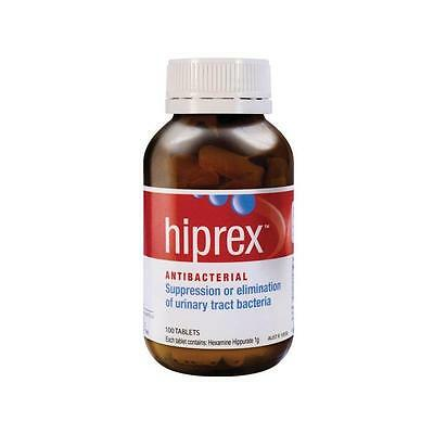 DJP NEW Hiprex 100 Tablets | Antibacterial for Urinary Tract Bacteria Infection