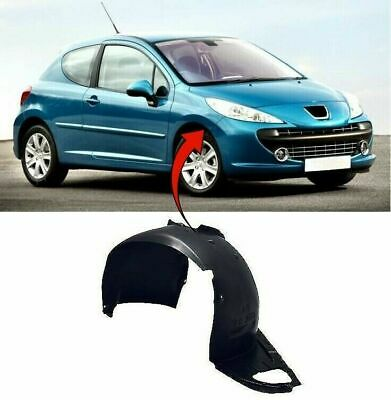 Peugeot 207 2006-2012 Front Wing Arch Liner Splash Guard Driver Side UK Seller