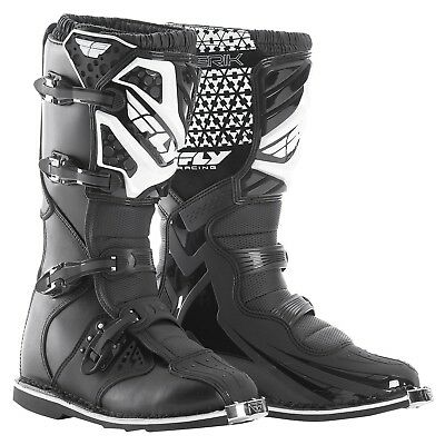 NEW Fly Racing 2017 Mx Maverik Adult Dirt Bike Black Motocross Boots