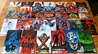 New Avengers (Vol 3) 1 -33 Annual 1 Complete Set 8 9 10 11 12 13 Variant 24 -32