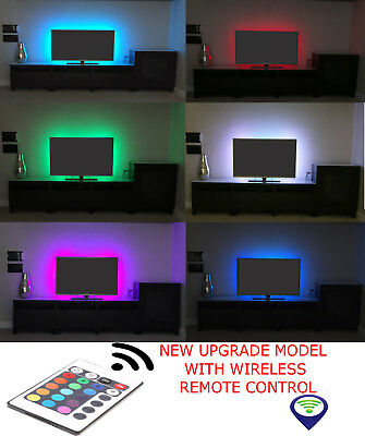 RGB LED STRIP USB Colour Changing Lighting Kit 50cm -TV, PC,PS4 Background light