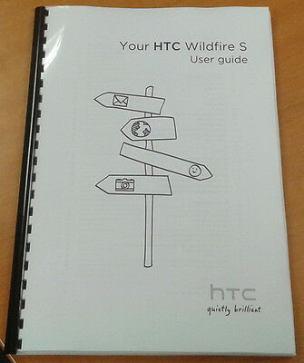 Htc Wildfire S 186 Pages Full Printed User Manual Guide