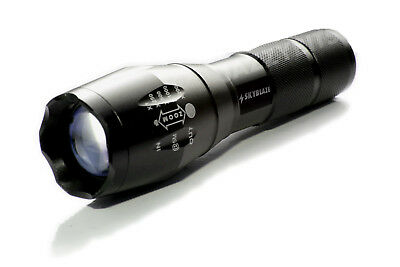 LED Torch 2000 Lumen CREE XM-L T6 Lamp Flashlight Ultrafire Zoomable 18650