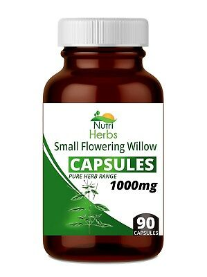 Small Flowering Willow Epilobium Parviflorum Pure Herb Capsules 90 X 1000mg