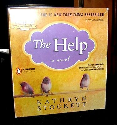 The Help by Kathryn Stockett Unabridged Audiobook CDs 1962 Era South