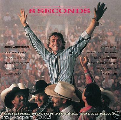 8 EIGHT SECONDS OST Audio Music CD Original Motion Picture Soundtrack New Sealed