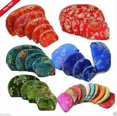 Wholesale6sets/30pcs Chinese Handmade Vintage Silk Purse&Wallet&Pouch&Gift Bags