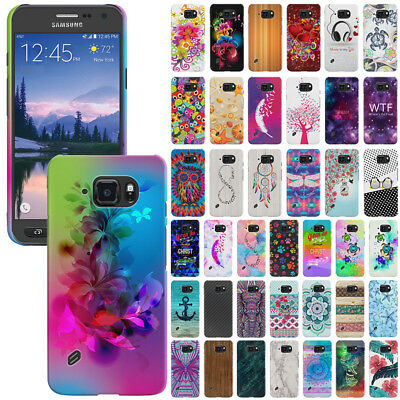 For Samsung Galaxy S6 ACTIVE G890 Design Protector Hard Back Case Cover Skin