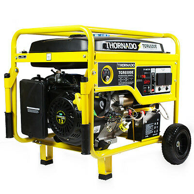 NEW THORNADO 5500W Max / 5000W Rated Petrol Power Generator 16HP Electric Start