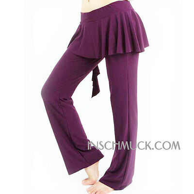C91114 Costume De Danse Du Ventre Pantalon Tribal Fusion Belly Yoga
