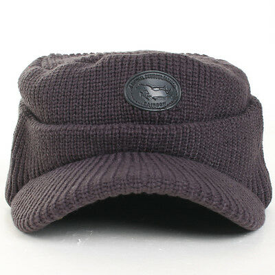 Nw Cover Ear flap Hunting Cap ADH Winter Sport Golf Trapper Baseball Driving Hat