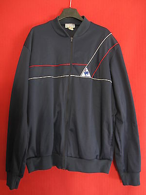 Veste Vintage Le Coq Sportif Marine Made in France 80'S BE taille 198 / XXL