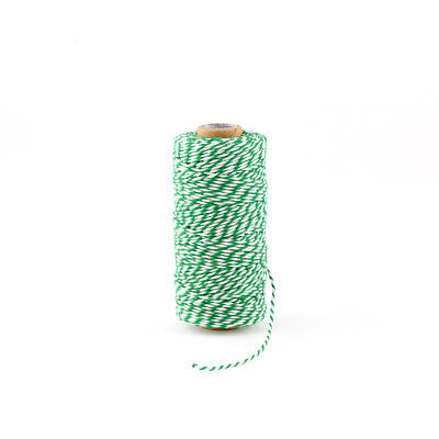 Classical Green Striped Baker's Twine Wedding, Cooking Supplies