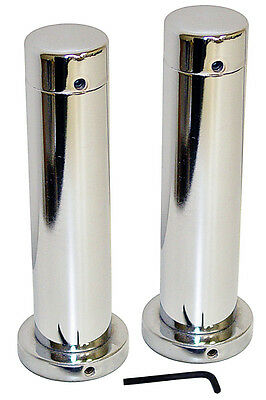 """7"""" Chrome Olympic Adapter Sleeve Pair (2 Pieces)"""