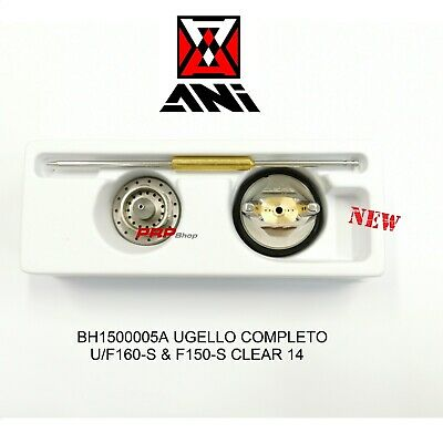 Ani U/F-150/S CLEAR 1.4 mm Ugello Completo - Noozle Complete - Buse Complète