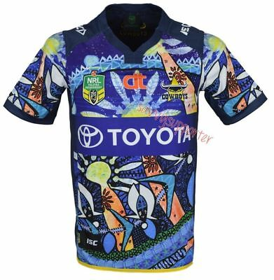 North Queensland Cowboys 2016 NRL Indigenous Jersey 'Select Size' S-3XL BNWT