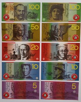100 Realistic Australian Currency Play Money Notes Teacher Resource won't tear