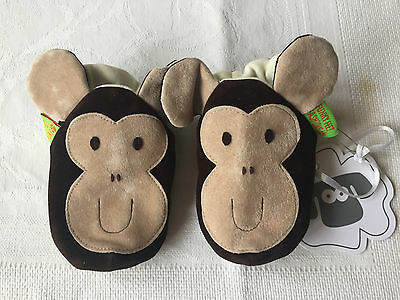 Funky Feet childrens' Monkey slippers