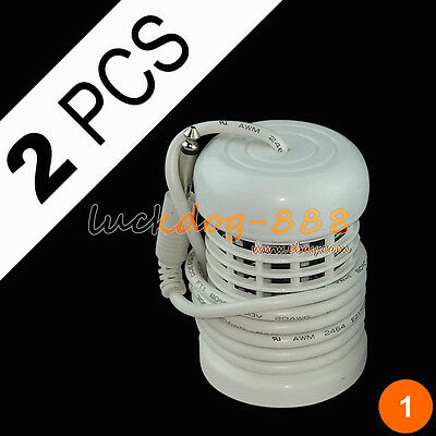 2 White Round Arrays for Ionic Ion Detox Foot Bath Spa Cell Cleanse Accessory