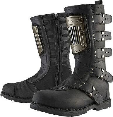 *Fast Shipping* Icon 1000 Elsinore HP Motorcycle Boots Black