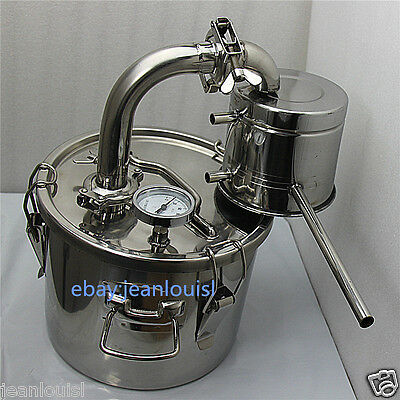 distiller moonshine thermo cooler wine  10 L water brew alcohol whisky wine