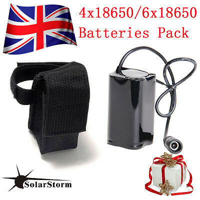 18650 Bike Bicycle Light Battery Pack For SolarStorm CREE Cycle Headlamp Torch