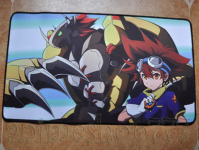 Digimon Yugioh VG MTG CARDFIGHT Game Large Keyboard Mouse Pad Playmat #4