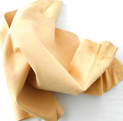 4 sq ft Genuine Chamois Leather Best Quality Car cloth tanned Sheepskin large