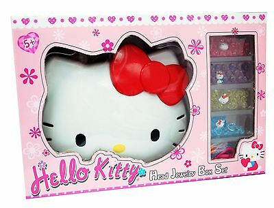 New Hello Kitty Face Deluxe Jewellery Box Toy