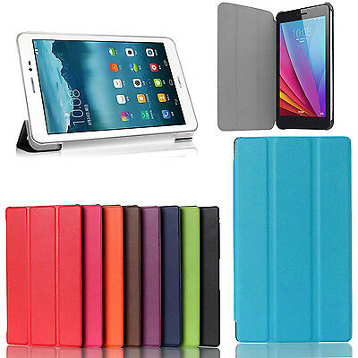 """Tablet Ultra Slim Smart Case Cover For Huawei MadiaPad 7"""", 8"""" ,9.6"""" T1-701U 821W"""