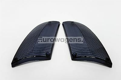 BMW 6 Series E24 76-89 Smoked Front Indicator Repeater Lenses Set Pair