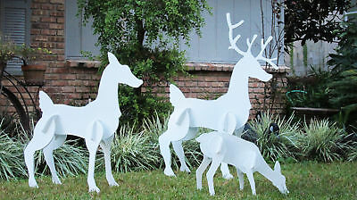 Christmas Outdoor Reindeer Family Set