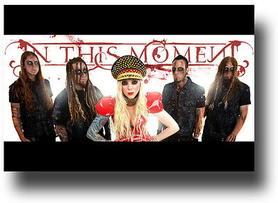 In This Moment  Poster promo flyer Maria Brink