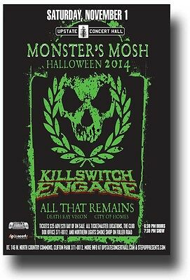 KillSwitch Engage Flyer - Concert Poster w/ All That Remains