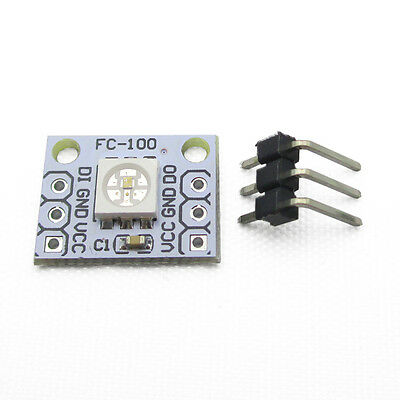 1PCS 1Bit 5V WS 2812 2811 5050 RGB LED Lamp Panel Module Rainbow LED for Arduino