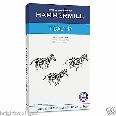 Hammermill Multipurpose Copy Paper 8 1/2 8.5 x 14 ream 500 Sheets