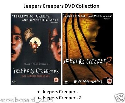 JEEPERS CREEPERS PART 1 AND 2 DVD COLLECTION Movie Film Brand New Sealed UK