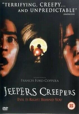 JEEPERS CREEPERS PART 1 DVD Movie Film Brand New and Sealed UK Release