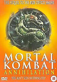 MORTAL KOMBAT DVD PART 2 Annihilation Combat Brand New and Sealed UK Release