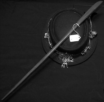 """Ptolemy's Protector ~ 21.5"""" Rare Natural Wood ~ MAGIC WAND ~ Costume Prop"""