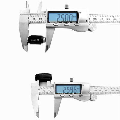 "Nobby 200/300mm 12"" Electronic Digital Caliper Stainless LCD Gauge Vernier+Case"