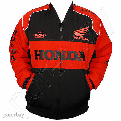 Honda Motorcycle Sport Team Racing Jacket #jkhd01