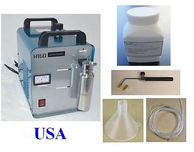 Oxygen Hydrogen Acrylic Flame Polishing Machine Electrolyte Powder 75L a