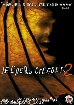JEEPERS CREEPERS PART 2 DVD Movie Film Brand New and Sealed UK Release