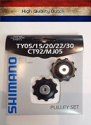 Shimano 6/7 Speed Bike Bicycle Pulley Rear Derailleur TY05 15 20 22 30 CT92 MJ05