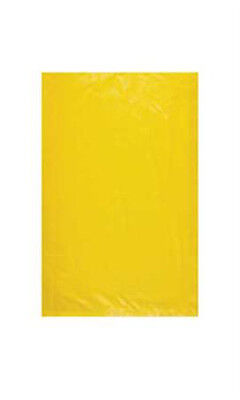 """Count of 1000 Small Yellow High-Density Plastic Merchandise Bag 8 ½"""" x 11"""""""