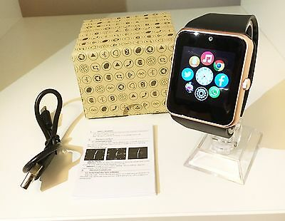 2016 Newest GT08 Bluetooth Smart Watch NFC Wrist Phone Mate For iPhone Andorid