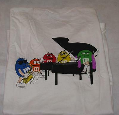 M&M Piano Logo with 5 m&m charactors M&M's